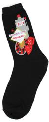 Gambling Grandma Socks