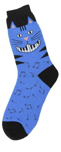 Piano Teeth Womens Socks