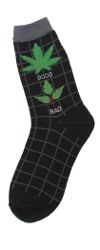 Good/Bad Weed Women's Socks