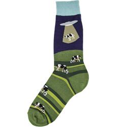 Men's Alien Abduction Socks