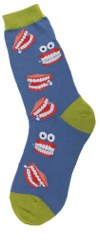 Chatty Teeth Women's Socks
