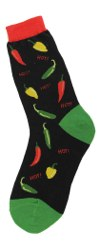 Hot Peppers Women's Socks