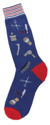 Men's Barber Shop Socks