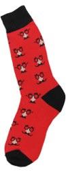 Men's Mustache Socks