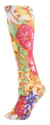 orange tahiti Womens Trouser Socks