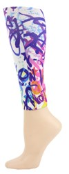 graffiti Footless Tights-Large Size