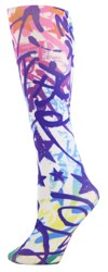 graffiti Womens Trouser Socks