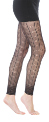 Rio Textured Footless Tights