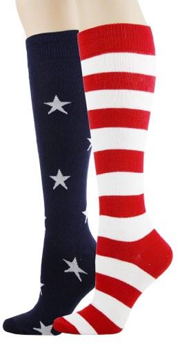 Stars and Stripes Knee High Socks