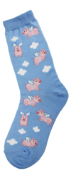 When Pigs Fly Women's Sock