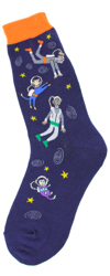 Floating in Space Women's Socks