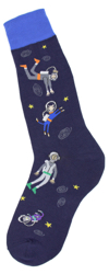 Men's Floating in Space Socks