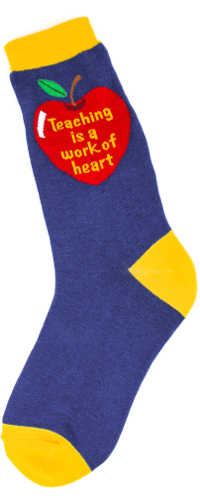 Teaching Heart Women's Socks