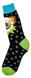 Men's Scary Clown Socks