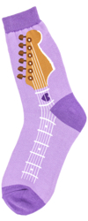 Guitar Neck Women's Socks