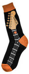 Men's Guitar Neck Socks