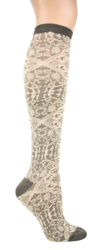 Textured Lace Knee High