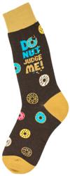 Men's Donut Judge Me Socks