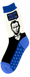 Abe Lincoln Women's Socks