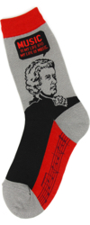 Mozart Women's Socks