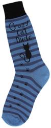 Men's Cat Dude Socks