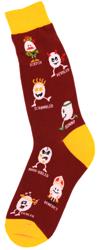 Men's Egg Yolks Socks