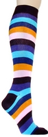 Purple Rainbow Knee Highs