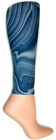 Denim Swope Footless Tights-Large Tall