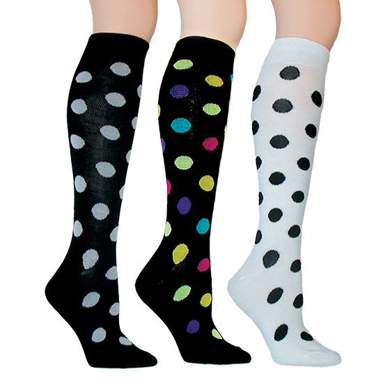 Polka Dot Knee Socks