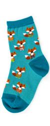 Kids Fox in Socks Socks