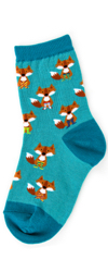 Youth Fox in Socks Socks