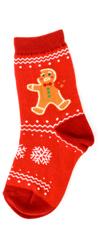 Kids Gingerbread Socks