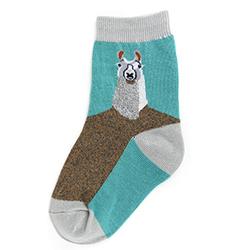 Kids Llama Socks
