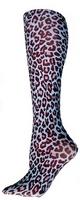 Blue Cheetah Tights-Large/Tall