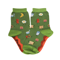 Kids Breakfast Socks
