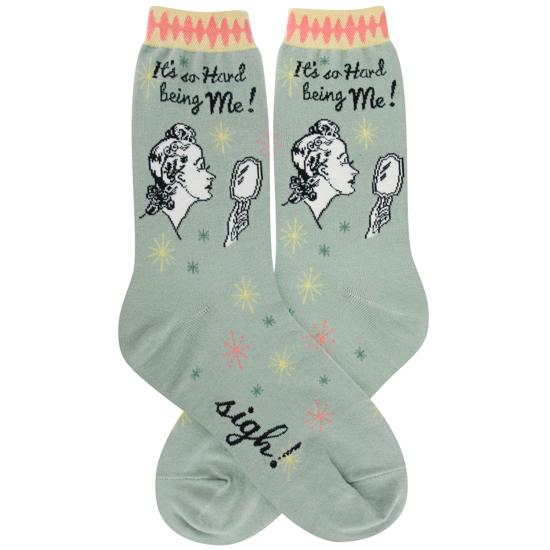Hard Being Me Women's Socks