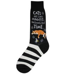 Men's Cat Inmate Socks
