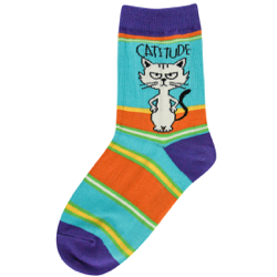 Youth Catitude Socks