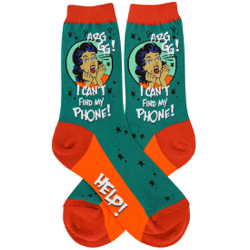 Lost Phone Women's Socks