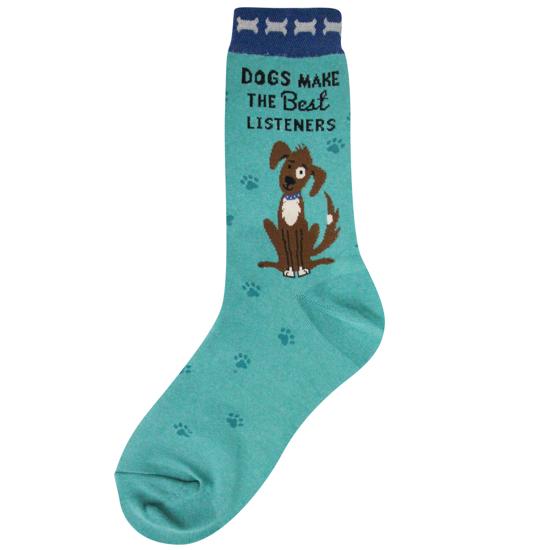 Dogs Listen Women's Socks