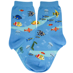 Youth Aquarium Socks