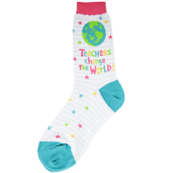 Teachers World Women's Socks