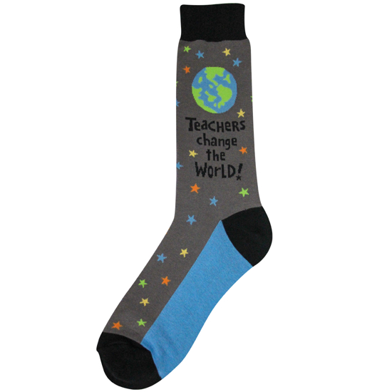 Men's Teachers World Socks