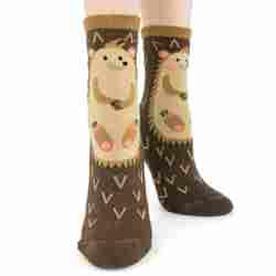 Hedgehog Slipper Socks