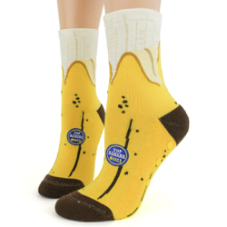 Banana Slipper Socks