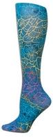 Floral Batik Trouser Socks