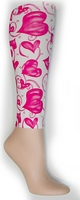 Hugs & Kisses Footless Tights-Large/Tall