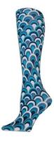 Retro Blue Trouser Socks