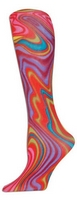 Rainbow Swirl Trouser Socks