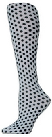 Polka Dots Tights-Large/Tall